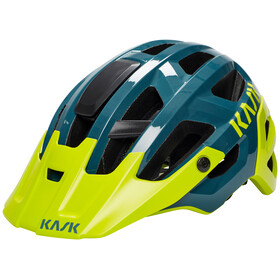 Kask Rex Bike Helmet yellow/teal